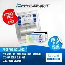 Datacard Laminate Film for SP75/SP75 Plus Printers with Magstripe • 375 Prints