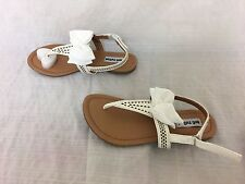 Girls Not Rated Junbow White Sandal Size 1        5B