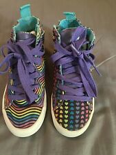 Chooze Shoes Hi-top Rainbow Shoes sz 13