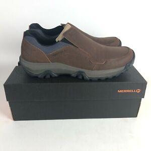 Merrell Avnik Moc Slip On Shoes Men's size 11.5 Oak Brown J95155