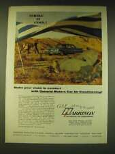 1960 GM Harrison Air Conditioning Ad - Stake your claim to comfort