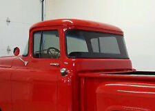 55-59 Chevy Truck Gray Tinted Temped Glass Kit Big Back Glass Door Vent Window