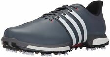 adidas Golf Men's Tour360 Boost Spiked Shoe Grey/White/Shk Red 11 D(M) US