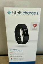 Fitbit Charge 2 Heart Rate Fitness Wristband Black Small FB407SBKS