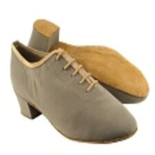 Very Fine Dance Shoes Brown Suede Latin Dance Shoe in size 8.5 with 1.5 inch hee