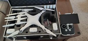 DJI Phantom 3 Advanced Drone HD Camera With Tons Of Extra Parts and Hard Case