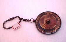 Brass 100 YEARS CALENDOR Key Chain- Collectible Marine Nautical Key Ring (38)