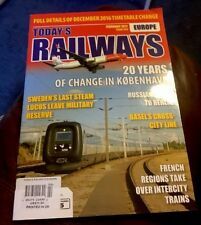 Today's Railways Magazine Russian Talgo To Berlin February 2017