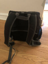 Outward Hound Puppy Dog Backpack Front carrier Carrier Royal Blue And Mesh