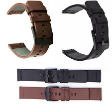 22 Luxury Leather Band Strap For Samsung Galaxy Watch 46mm/Moto 360 2nd Gen 46mm