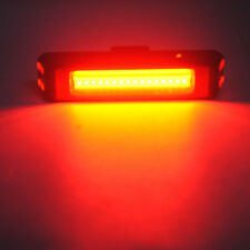 USB LED  Bike Front Rear Tail Light Rechargeable Warning Lamp Waterproof KY 2017