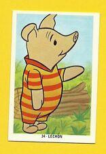 Winnie The Pooh Piglet Scarce Walt Disney Cartoon Spanish Card