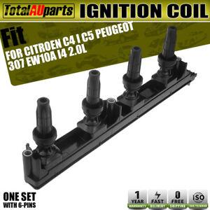 Ignition Coil Fits for Citroen C4 Peugeot 307 Grand Picasso C5 2.0L 16V 2004 on