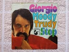 """Vinyl-7""""-Cover # only Cover # Giorgio (Moroder) # Moody Trudy - Stop # vg"""
