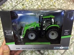 1046 DEUTZ-FAHR Agrotron 6190 TTV 1/32 Scale DieCast By Weise-toys