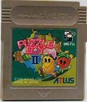 Nintendo Gameboy Puzzle Boy 2 Cartridge Only Japan Ver US Seller DMG-P3J