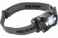 NEW Pelican Flashlights 2760 Pro Gear Led Headlite - in BLACK- Torch Lights