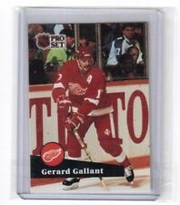 1991-92 NHL Pro Set Card # 63 Gerard Gallant Detroit Red Wings