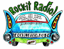 Rock-it Radio shows #5801 to #5850 on flashdrive mp3 = 70 hours of oldies Rock.