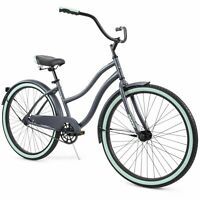 "Huffy 26"" Cranbrook Women's Comfort Cruiser Bike Gray/Grey FREE SHIP"