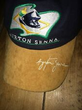 RARE Ayrton Senna Foundation Cap Signature Collection Ltd Edition F1 Formula One