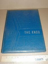 1960 Casar High School Casar NC vintage Yearbook Grades 1-12 Cleveland County