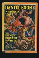 Daniel Boone 1922 Color Illustrations + Dust Jacket