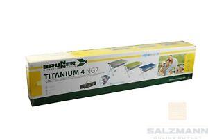 Brunner Titanium 4 NG2 Alu-Rolltisch B-Ware