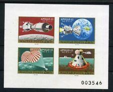 Ungheria piccoli archi MiNr. 2594-97 B post freschi/MNH settori aerospaziale/Apollo (rf361