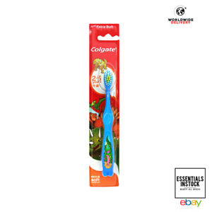 Colgate Extra Soft Giraffe Kids Toothbrush for 2-5 Years - Colors may vary