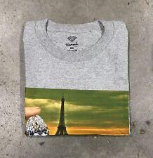 Diamond Supply Multicolor Paris Graphic T In Grey Sz. 2xl NWT 100% Authentic!!