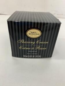 The Art of Shaving Mens Unscented 5 Oz Shaving Cream Essential Oil Gel NIB