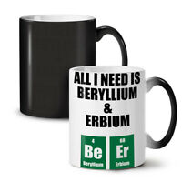 Beer Chemistry Funny Geek NEW Colour Changing Tea Coffee Mug 11 oz   Wellcoda
