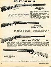 1974 Print Ad Daisy 3030 Buffalo Bill 1894 86/70 Safari 7938 Red Ryder Bb Rifle