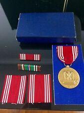 Vintage 1944 WW II Army GOOD CONDUCT Medal/Decoration ORIGINAL BOX