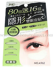 96 PAIRS FOLI  EYELID STICKERS TAPE GREEN PK A962 NATURAL & COMFORTABLE CONTOUR