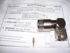Connettore professionale tipo N maschio ad angolo DELTA OHM mod. DSP-422