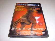 DVD  Carnosaurus - Attack of the Raptors In der Hauptrolle Cliff de Young