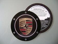 Magnético impuesto Portadisco Fit Porsche Coupe 911 Boxster Targa Cayenne Carrera Gt