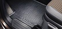 AMAROK RUBBER FRONT FLOOR MATS GENUINE VOLKSWAGEN VW ALL MODELS 1 X SET  = 2 Pcs
