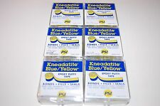 "6 -1""x 36"" Kneadatite Blue/Yellow Green Stuff Epoxy Putty Tape, Warhammer Moulds"