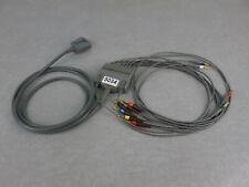 Burdick EKG ECG 10 Lead Cable 007704