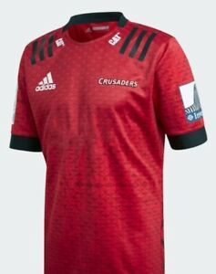 CRUSADERS 2020 MEN'S HOME JERSEY. BNWT! SIZE: XL.