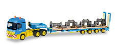 Herpa 306973 h0 Truck Mercedes Actros L 6x4 semitieflade-Articulated with Cranks.