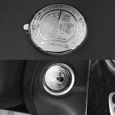 3D AMG Emblem Engine Push Start Button Cover Sticker For Benz C class W205 GLC