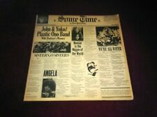 John Lennon Yoko Ono Some Time In New York City LP Frank Zappa With Post Card +
