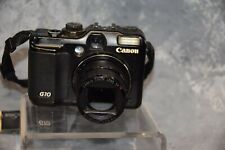 Canon PowerShot G10 14.7MP Digital Camera, Parts or repair