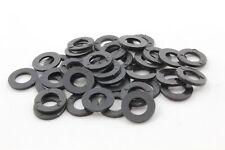 Unterlegscheiben DIN125 Kunststoff | schwarz | M4 M5 M6 M8 | Polyamid U-Scheibe