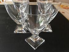 Peill Karat Wagenfeld Kristallglas 60er Jahre Wasserglas 2 Stück L