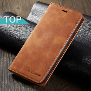 Magnet Leather Wallet Case For iPhone 12 7 8 Plus XS Max 13 card slot Flip Cover